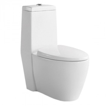 "Dooa Floor Mounted Toilet - 12"" Rough in - Orbita"