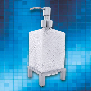 Perk Crystal Floor Liquid Soap Dispenser