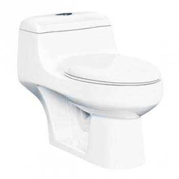 "Dooa Floor Mounted Toilet - 12"" Rough in - Caro"