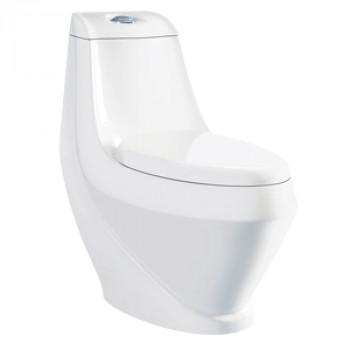 "Dooa Floor Mounted Toilet - 12"" Rough in - Anglo"