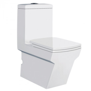 "Dooa Floor Mounted Toilet - 12"" Rough in - Aristo"