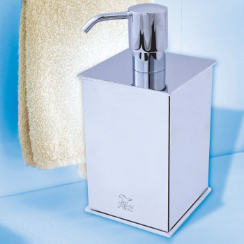 Perk Brass Floor Liquid Dispenser