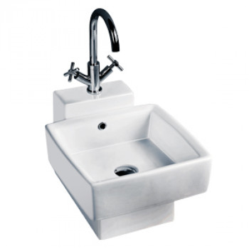 Dooa Wall Hung Basin with L-Stand Cyprus