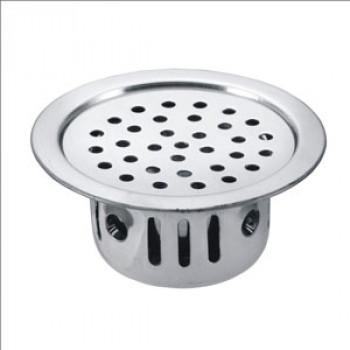 5 inch Brass Round CCT Jali - Floor Drain
