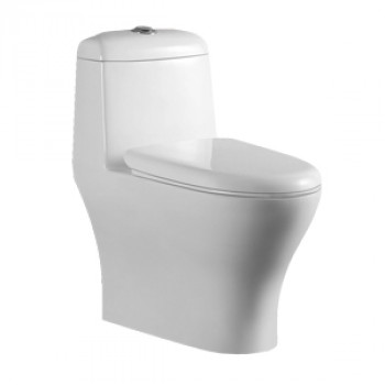 "Dooa Floor Mounted Toilet - 12"" Rough in - Trista"
