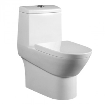 "Dooa Floor Mounted Toilet - 4"" Rough in - Cambria"