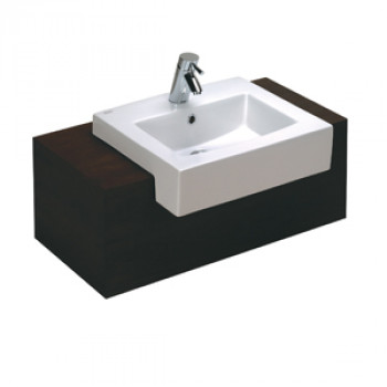 American Standard Semi - Recess Top Wash Basin - Acacia