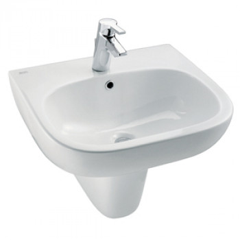 American Standard Wall Hung Basin with Half Pedestal - Active