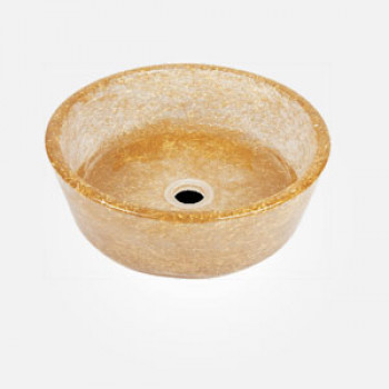 "15"" Pebble Round Wash Basin"