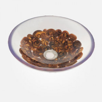 "16"" Pebble Round Wash Basin"