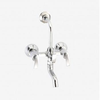 Aquel Wall Mixer With Spout & Bend for Overhead Shower DL 01-42