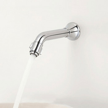 Aquel Wall Mounted Basin Faucet (Pillar Cock) DL 01-32
