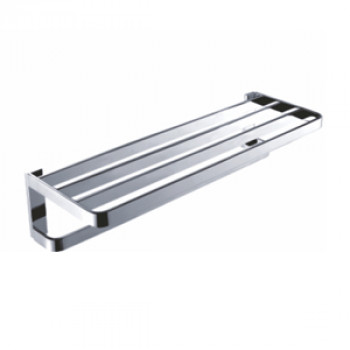 Perk Bath Towel Rack Double 600mm