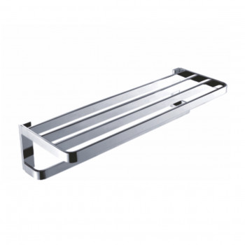 Perk Bath Towel Rack Double 500mm