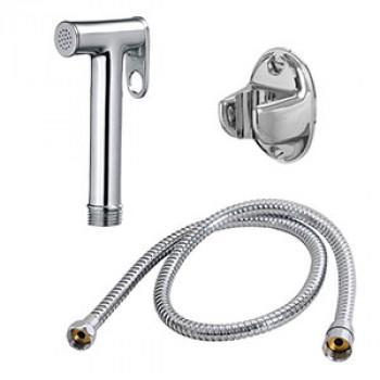 Round Health Faucet Set - Brass Shower Gun