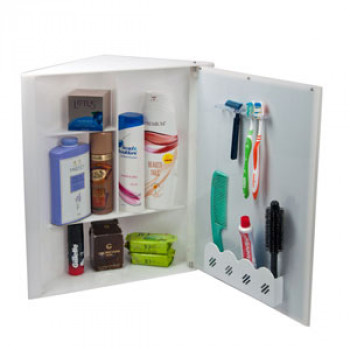 Corner Bathroom Storage Cabinet from Navrang