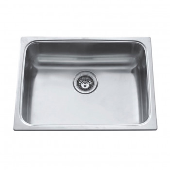 Carysil Single Bowl Kitchen Sink with Drainer