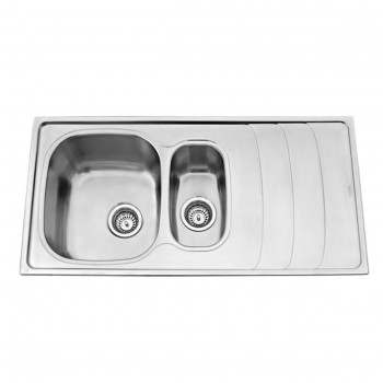 Carysil One & Half Bowl Kitchen Sink with Drainer