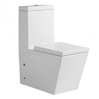 "Dooa Floor Mounted Toilet - 12"" Rough in - Cubo"