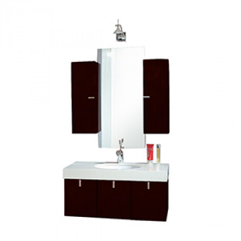 Dooa Bathroom Cabinet With Wash Basin (Vanity Set) D108