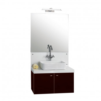 Dooa Bathroom Cabinet With Wash Basin (Vanity Set) D-110