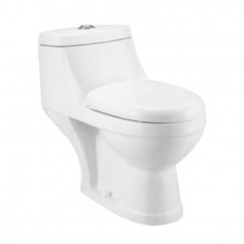 Dooa Floor Mounted Toilet - 9 inches Rough in - Loreta