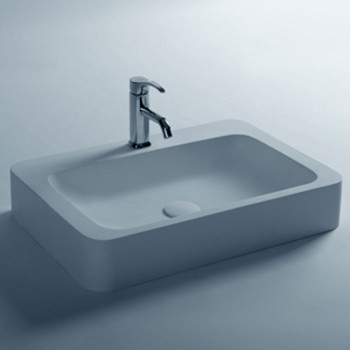 Dooa Solid Surface Wash Basin Rectangle