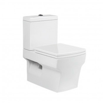 Dooa Dual Flush Wall Hung Toilet Suite Angle