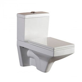Dooa Dual Flush Wall Hung Toilet Suite - Leon