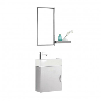 Dooa Bathroom Cabinet With Wash Basin (Vanity Set)