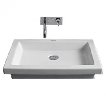 Duravit Counter Top Wash Basin Without Overflow-0317580000-1