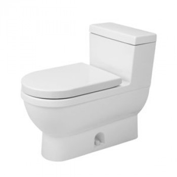 Duravit Floor Mounted One Piece Toilet-2120010001