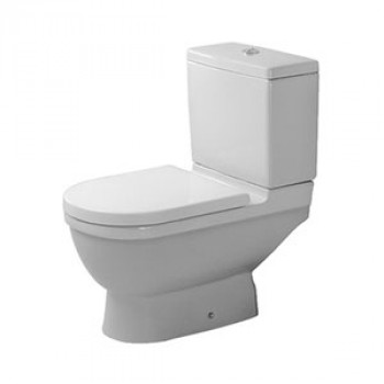 Duravit Floor Mounted Two Piece Toilet-0126010000