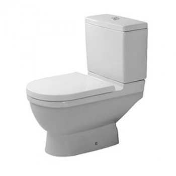 Duravit Floor Mounted Two Piece Toilet