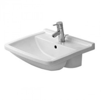 Duravit Semi-Recessed Wash Basin With Overflow-0310550000
