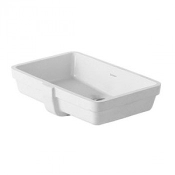 Duravit Undercounter Vanity Wash Basin With Overflow-0330480000