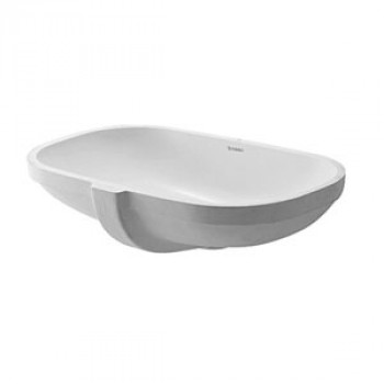 Duravit Vanity Undercounter Wash Basin With Overflow-0338490000