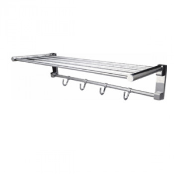 Perk Folding Towel Rack Round