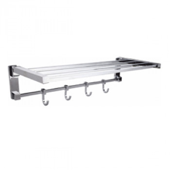 Perk Folding Towel Rack Square
