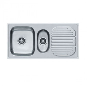 Franke Double Bowl Kitchen Sink Set