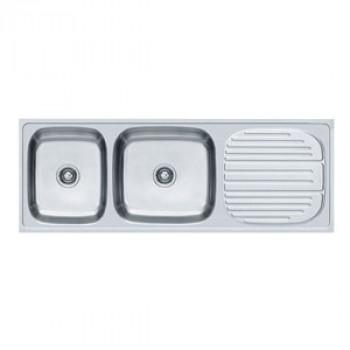 Franke Double Bowl Kitchen Sink Set