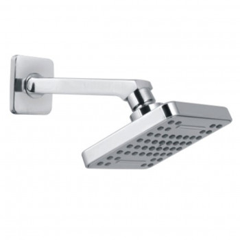 "Goeka Water Fall 4"" Over Head Shower with Arm"