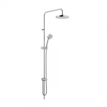 Grohe Shower Rail With Hand Shower And Overhead Shower