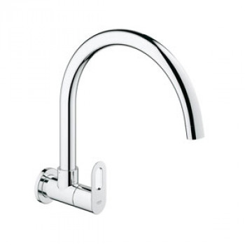Grohe Wall Mounted Sink Tap With Swivel Spout