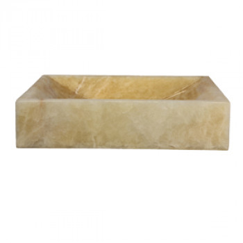Dooa Onyx Counter Top Wash Basin Rectangle Shape