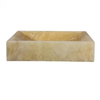 Dooa Onyx Counter Top Wash Basin Rectangle Shape