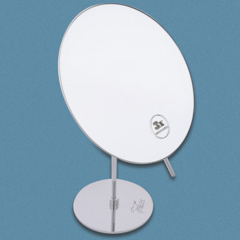 Perk Round Floor Mounting Mirror