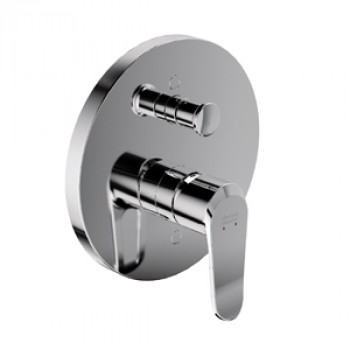 American Standard Single Lever Bath Mixer (Divertor) (High Flow) Neo Modern