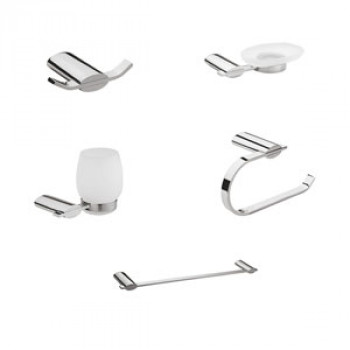 Perk Altair Series Bath Accessories Set 5 Pcs-1