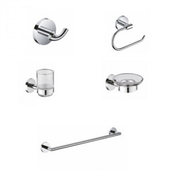 Perk Conti - DX Series Bath Accessories Set 5 Pcs-1